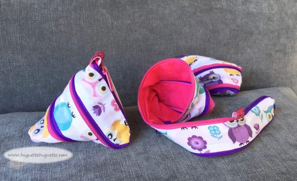 Le Tuto Rigolo : Les Petites Trousses Zip Itself
