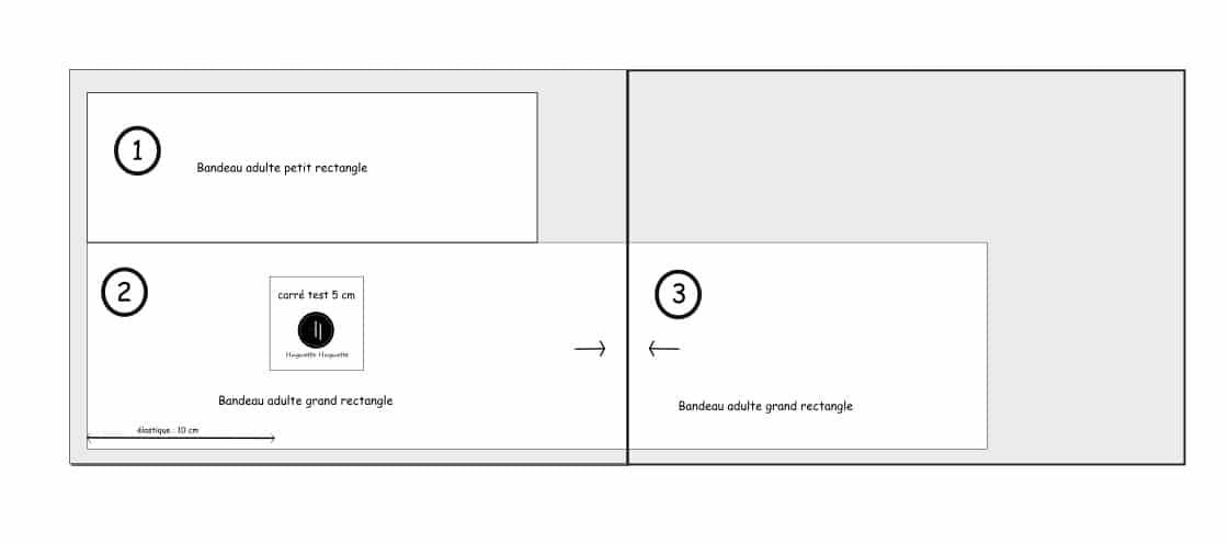 Patrons PDF à Télécharger Pour Bandeau En Tissu